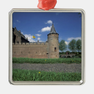 Europe, Netherlands, Muiden Muiden Castle Metal Ornament