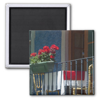 Europe, Portugal. Historic town of Sintra. Square Magnet