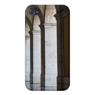 Europe, Portugal, Lisbon. Columns Of The Arcade iPhone 4/4S Covers
