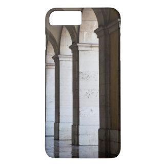 Europe, Portugal, Lisbon. Columns Of The Arcade iPhone 7 Plus Case