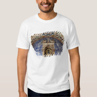 Europe, Portugal, Obidos. Colorful architectural Tee Shirt
