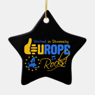 Europe Rocks! ornament