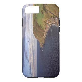 Europe, Scotland, Aberdeen. Overhead view of iPhone 7 Case