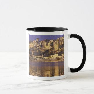 Europe, Spain, Balearics, Menorca, Mao. Dawn Mug