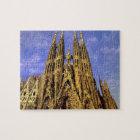 Europe, Spain, Barcelona, Sagrada Familia Jigsaw Puzzle