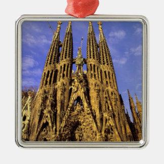 Europe, Spain, Barcelona, Sagrada Familia Metal Ornament