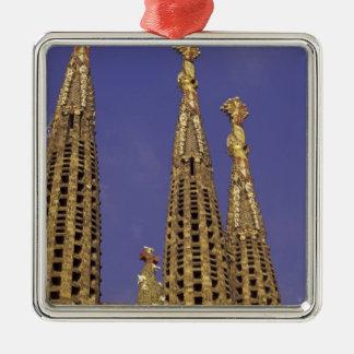 Europe, Spain, Barcelona Sagrada Familia Metal Ornament