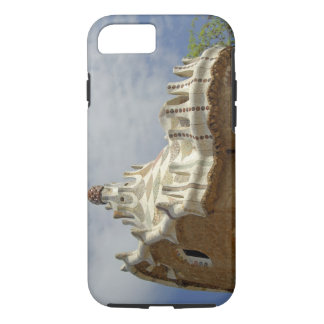 Europe, Spain, Catalunya, Barcelona. Park Guell, 2 iPhone 7 Case