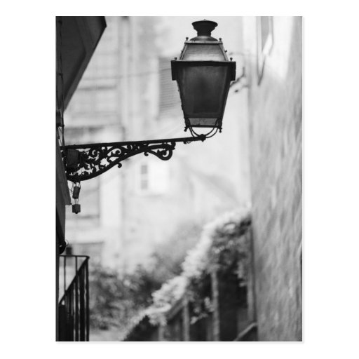 Europe, Spain, Mallorca. Street lamps, Palma Post Card