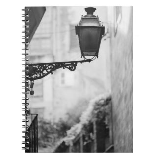 Europe, Spain, Mallorca. Street lamps, Palma Spiral Note Books
