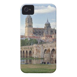 Europe, Spain, Salamanca. The Roman bridge over iPhone 4 Cases