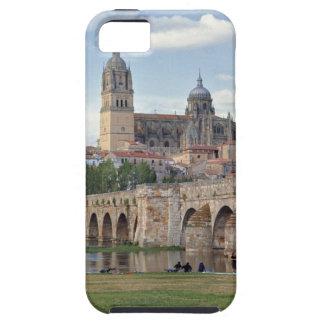 Europe, Spain, Salamanca. The Roman bridge over iPhone 5 Covers
