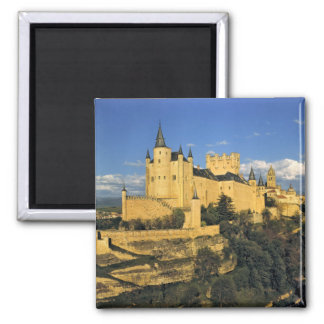 Europe, Spain, Segovia. The imposing Alcazar, Magnet