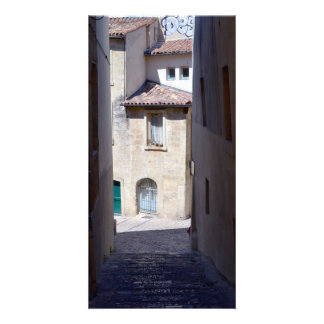 Europe Streets Custom Photo Card