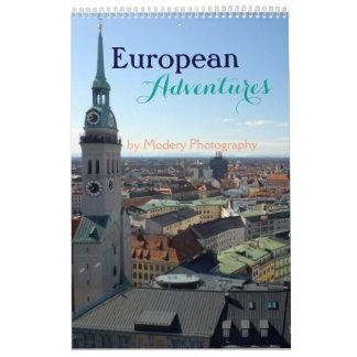 European Adventures 2017 (Single Page) Calendar