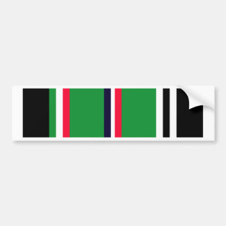 European-African-Middle Eastern Campaign Ribbon Bumper Stickers