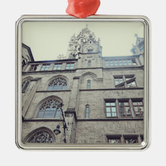 European architecture christmas ornaments