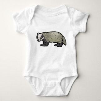 European Badger Baby Bodysuit