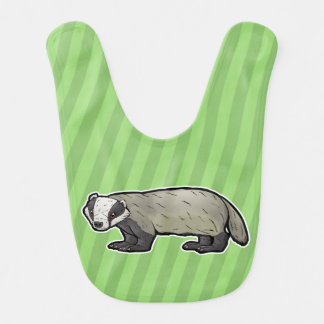 European Badger Bib