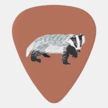 European Badger (Meles meles) Pick