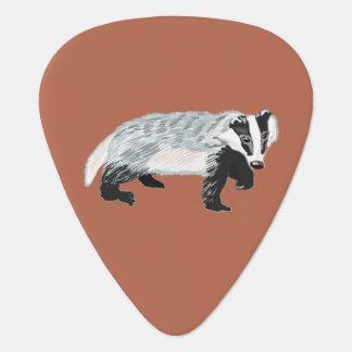 European Badger (Meles meles) Plectrum