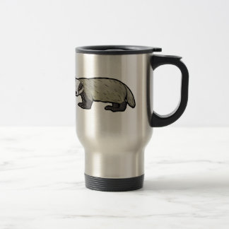 European Badger Travel Mug