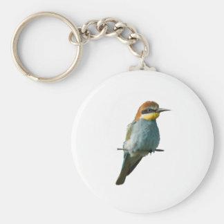 European Bee-Eater Keychain Basic Round Button Keychain