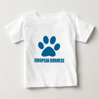 EUROPEAN BURMESE CAT DESIGNS BABY T-Shirt