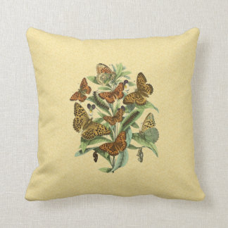 European Butterflies 1 Cushion