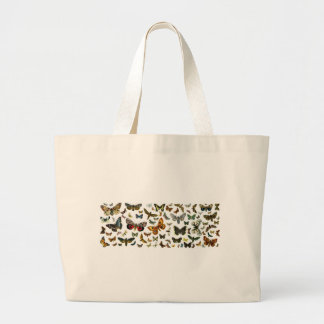 European Butterfly Collage Tote Bags