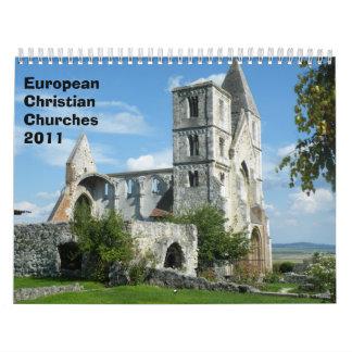 European Christian Churches 2011 Calendars