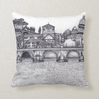 European City Throw Pillow