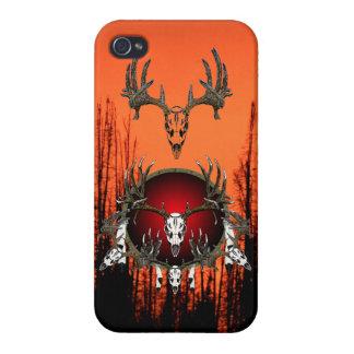 European  deer skulls cases for iPhone 4
