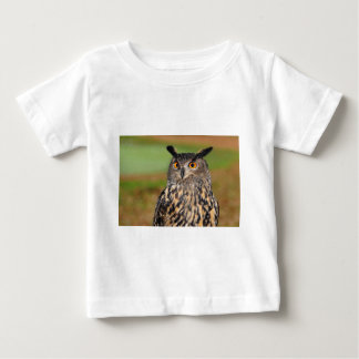 European Eagle Owl Baby T-Shirt