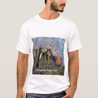 European Eagle Owl T-Shirt