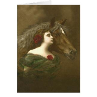 European Equine Photo Art 1 Card