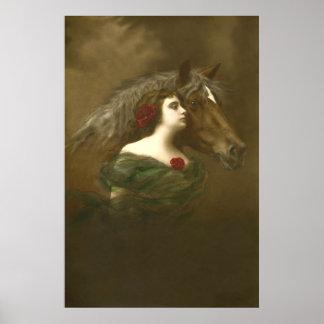 European Equine Photo Art 1 Poster