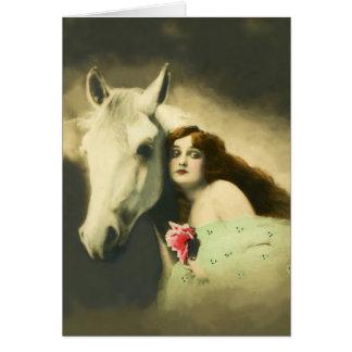 European Equine Photo Art 3 Card