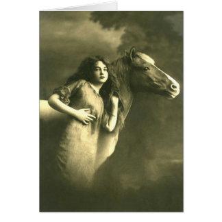European Equine Photo Art 6 Card