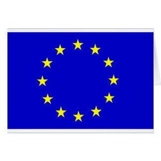 European Flag Card