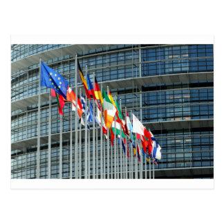 European Flags Postcard