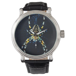 European Garden Spider Wristwatch