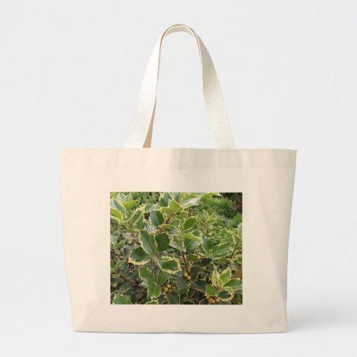 European Holly Canvas Bags