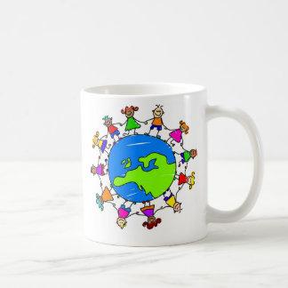 european kids basic white mug