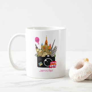European Landmarks Travel Photographer Coffee Mug
