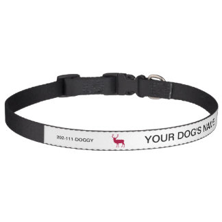 European Red Deer Stag - Stag Party Dog Collars