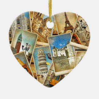 European snapshots christmas ornaments
