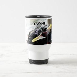 European starling travel mug