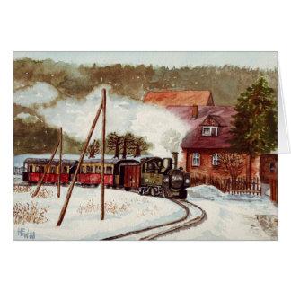 European Steam Train Card