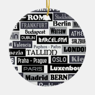 European Traveler ornament